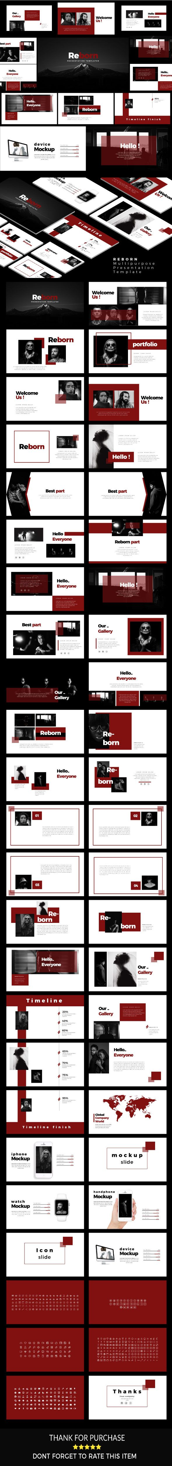 reborn creative google slide google slides presentation