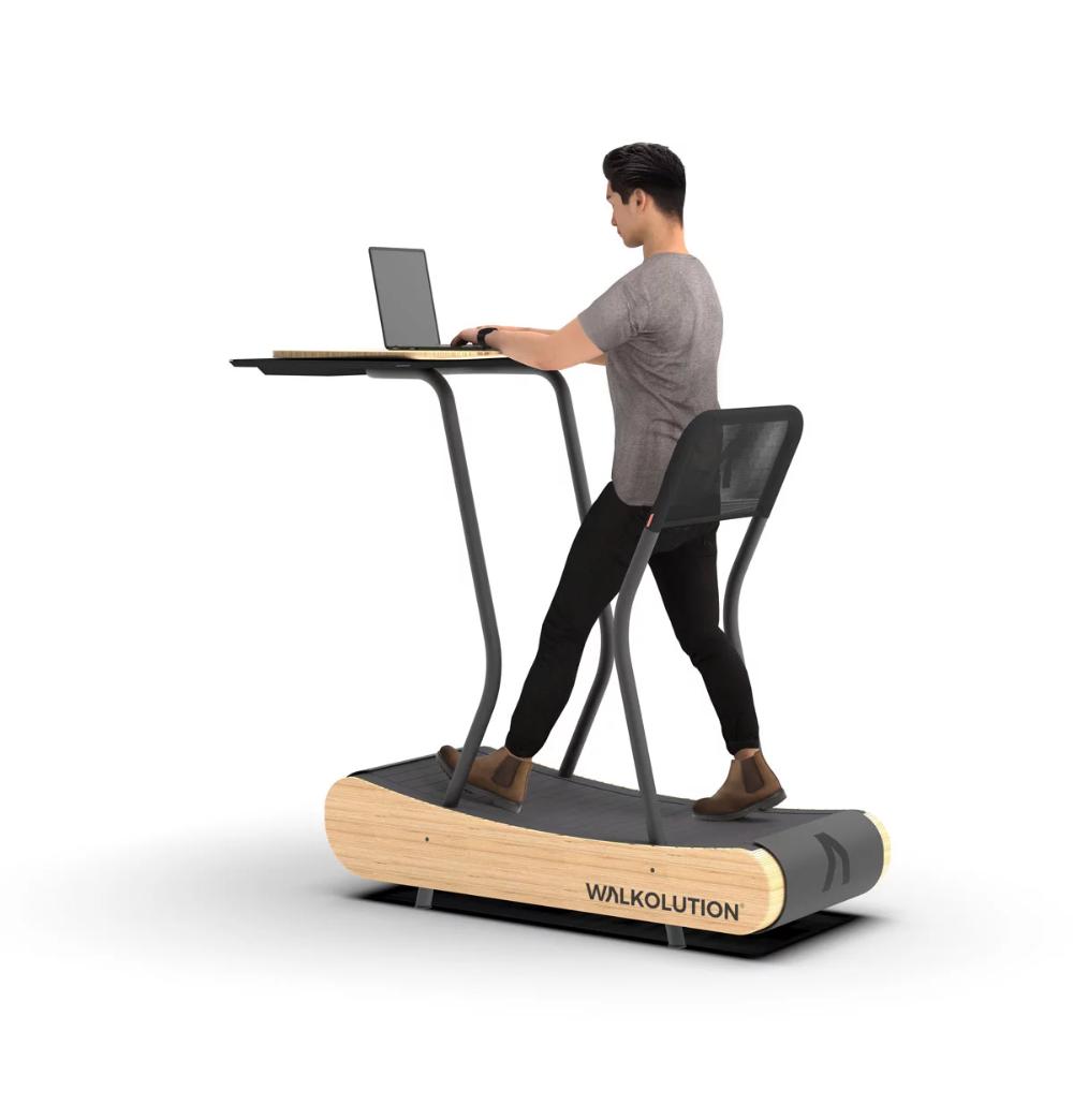 Self Activated Whole Body Motion Treadmill Desks Walkolution Work And Walk Treadmill Desk Walking Desk Desk