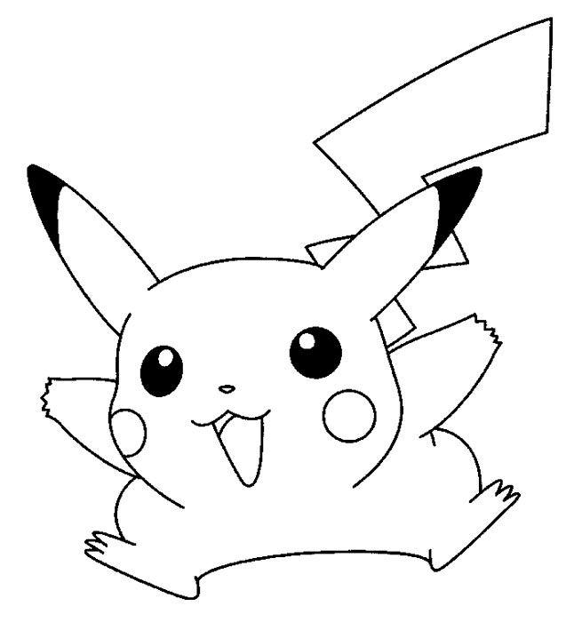 Coloriage De Pikachu 67 Cliquez Pour Imprimer Projets