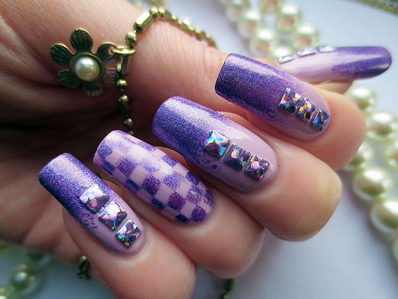 100 Diseños de Uñas violeta | UÑAS DECORADAS - NAIL ART | Uñas ...
