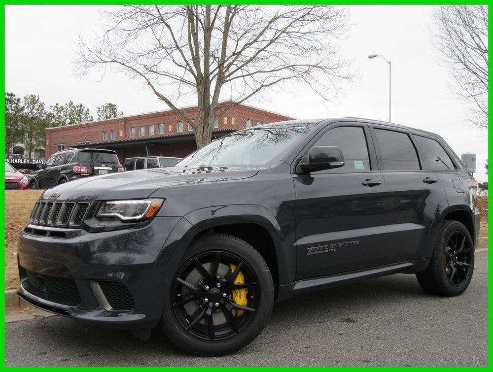 2018 Jeep Grand Cherokee Trackhawk Harmon Kardon Touchscreen