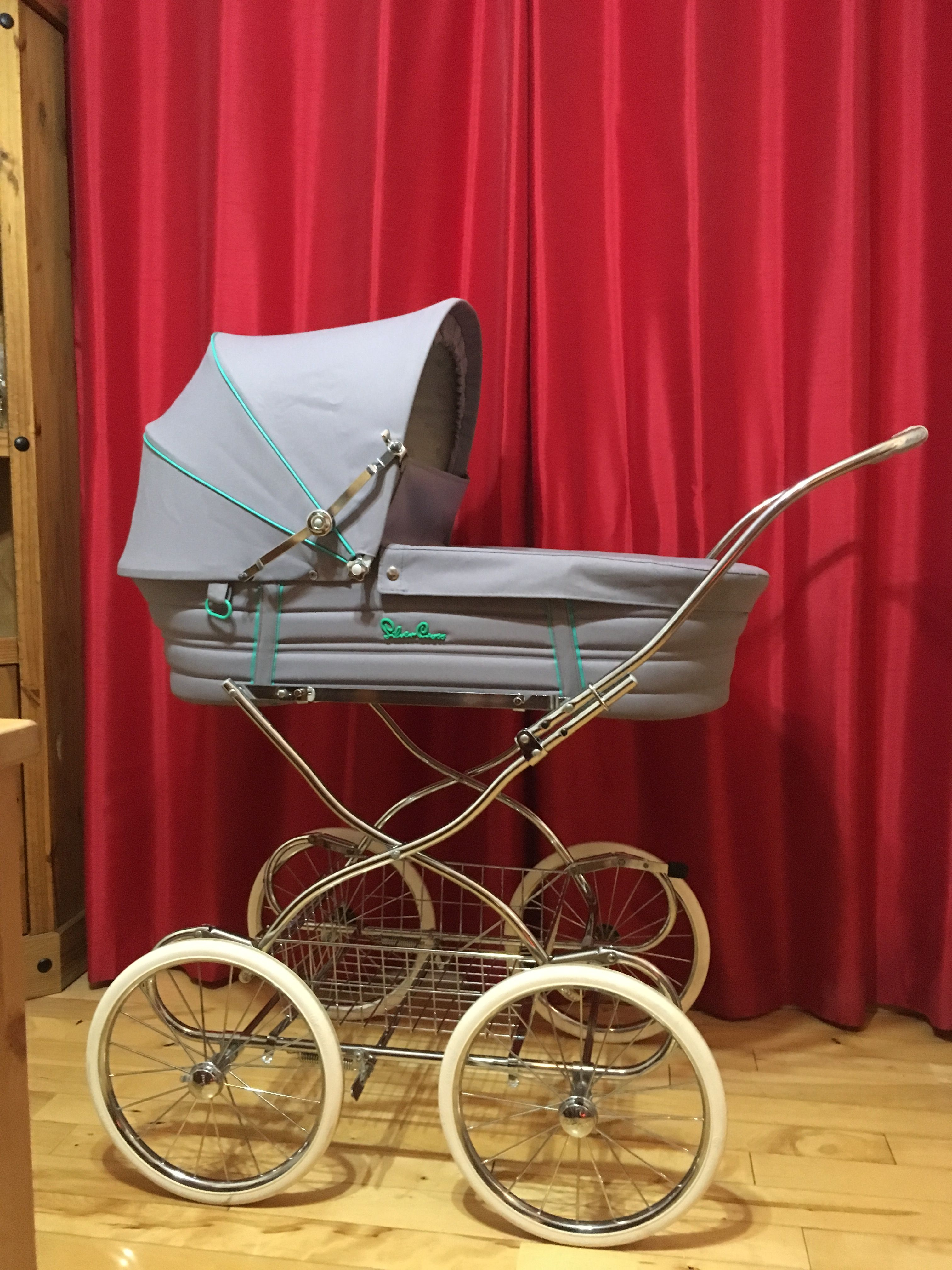 Vintage Silvercross Chancellor £50 Stroller, Vintage pram