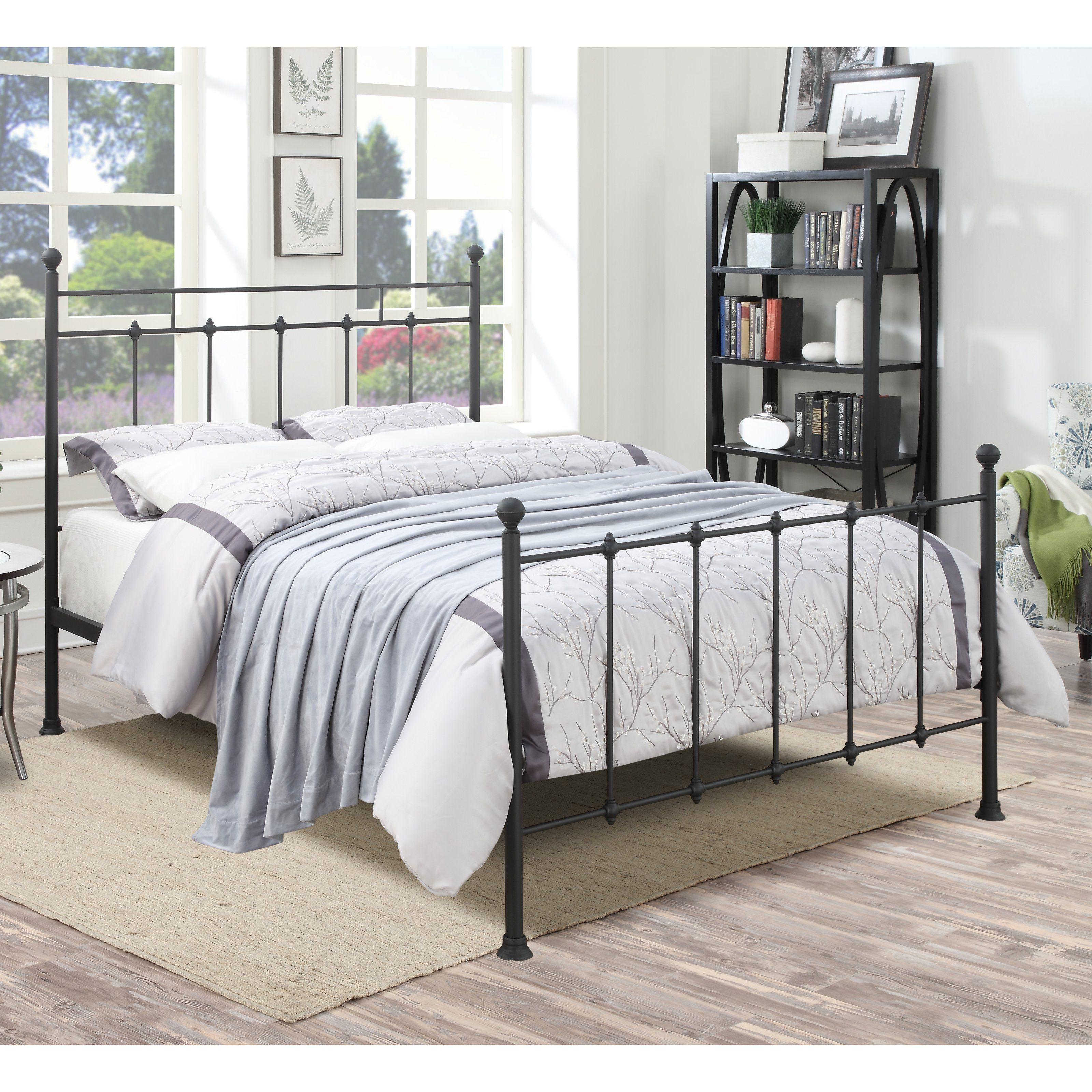 Best Home Meridian Stockbridge Standard Queen Bed From Hayneedle Com Queen Metal Bed 640 x 480