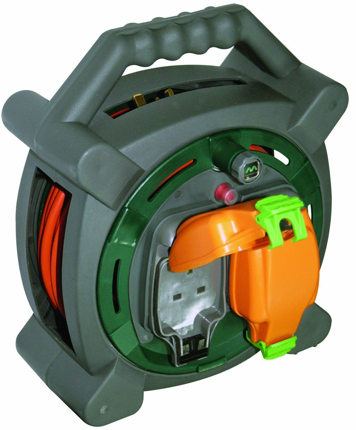 Masterplug HLP2013/2IP 20m Outdoor IP Rated Cable Reel