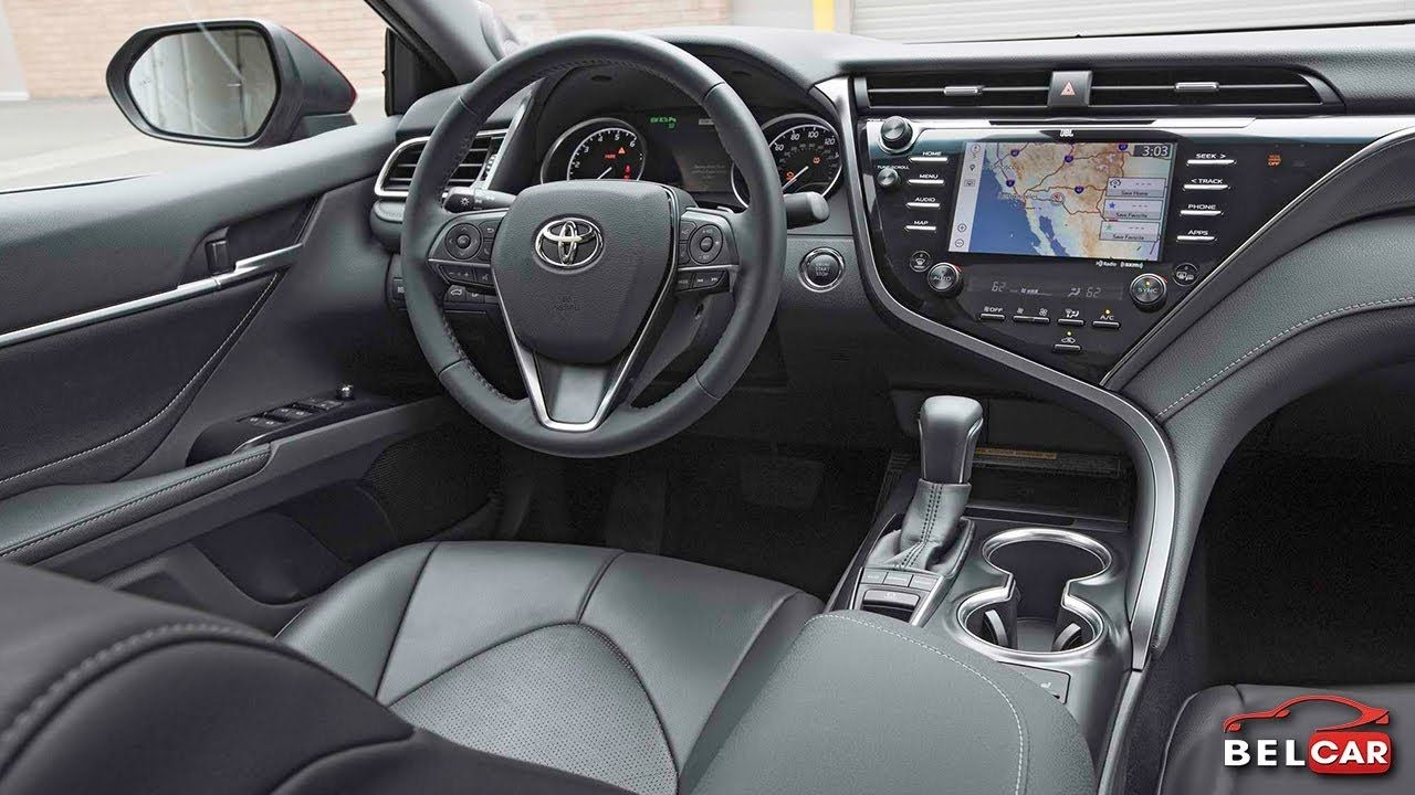 All New Camry 2018 Interior Grand Kijang Innova V 2014 Toyota Xse V6 Fabric And Seating Options Belcar