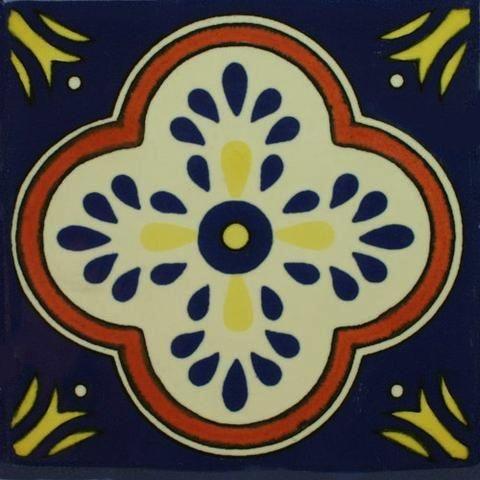 Decorative Mexican Tiles Entrancing Porcelain Decorative Mexican Tile  Flor Cruz  Porcelain And Products Design Decoration