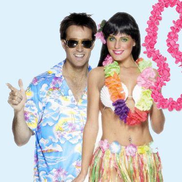 Hawaiian Hats, Masks and Fancy Dress | Partyrama.co.uk