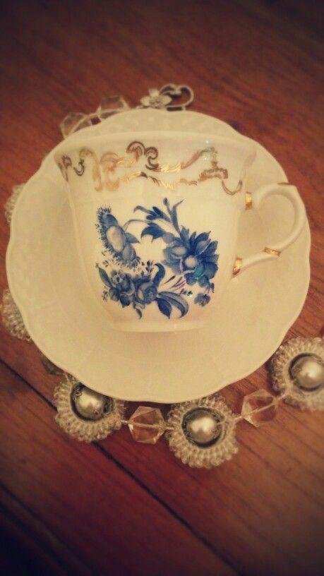 """Porcelain paint """"Vintage flowers"""""""