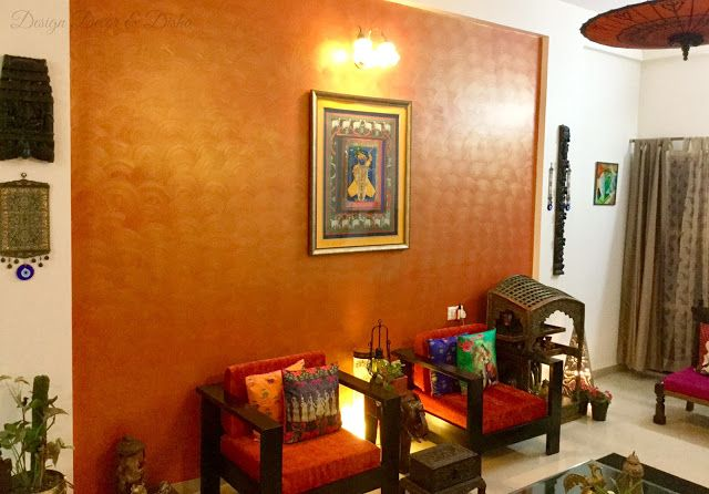Design Decor & Disha: Wall Stories: Traditional Indian Wall Decor
