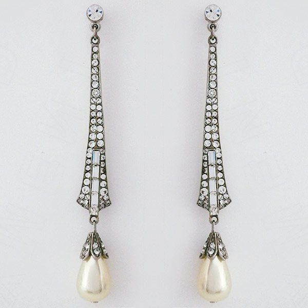 pearl long shop product modern earrings drop pbs org