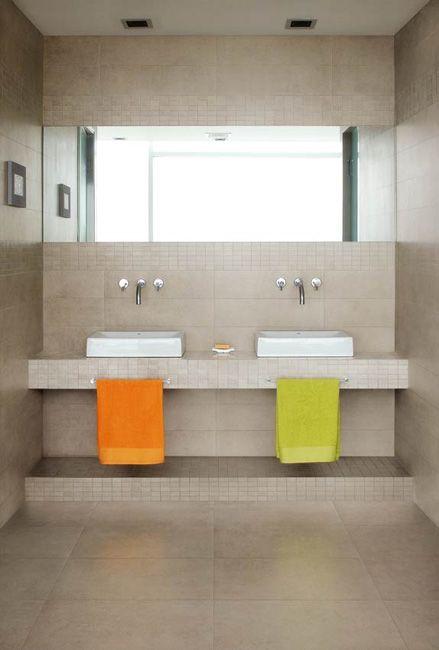 Santagostino Carrelage Beige Natural Trend Bathroom