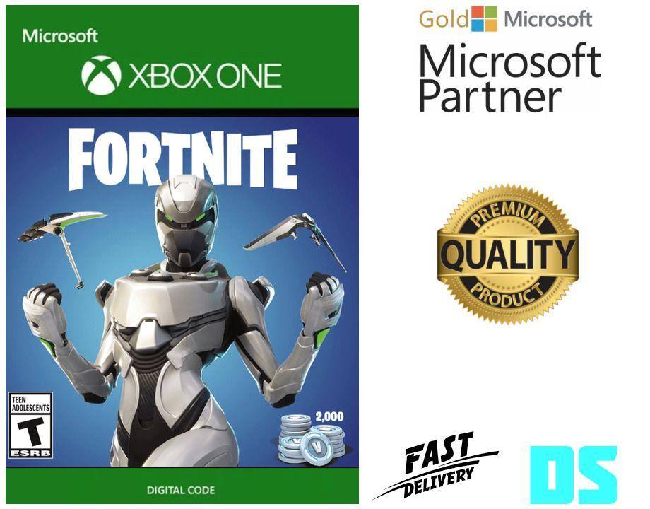 Fortnite Eon Cosmetic Set + 2000 V-Bucks Xbox One *Region