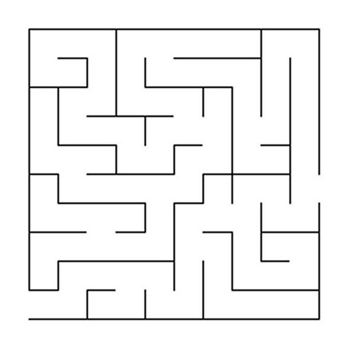Easy Mazes Printable Mazes For Kids Miscellaneous Coloring Pages