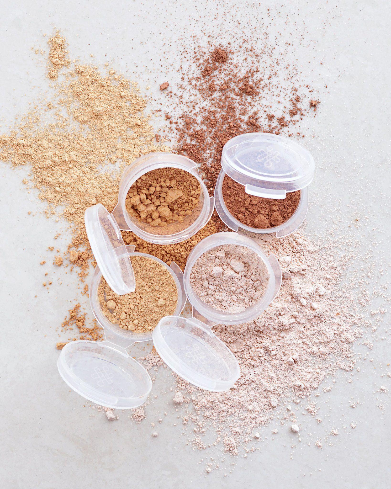 Loose Powder Foundation Samples Subtle Coverage