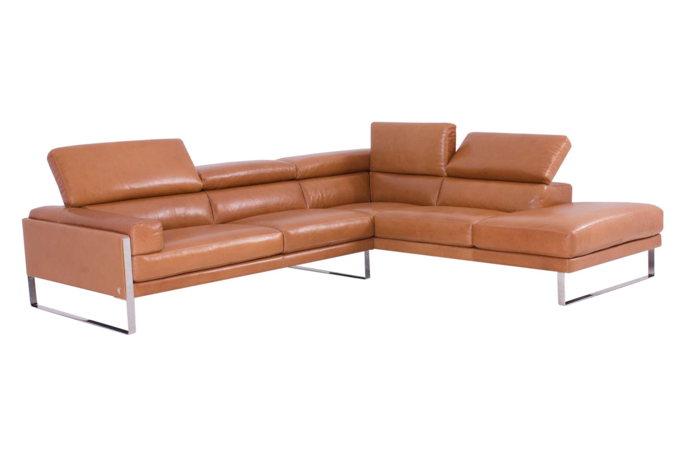 Calia Italia Sofa ROMEO in Leder Karma konfigurierbar