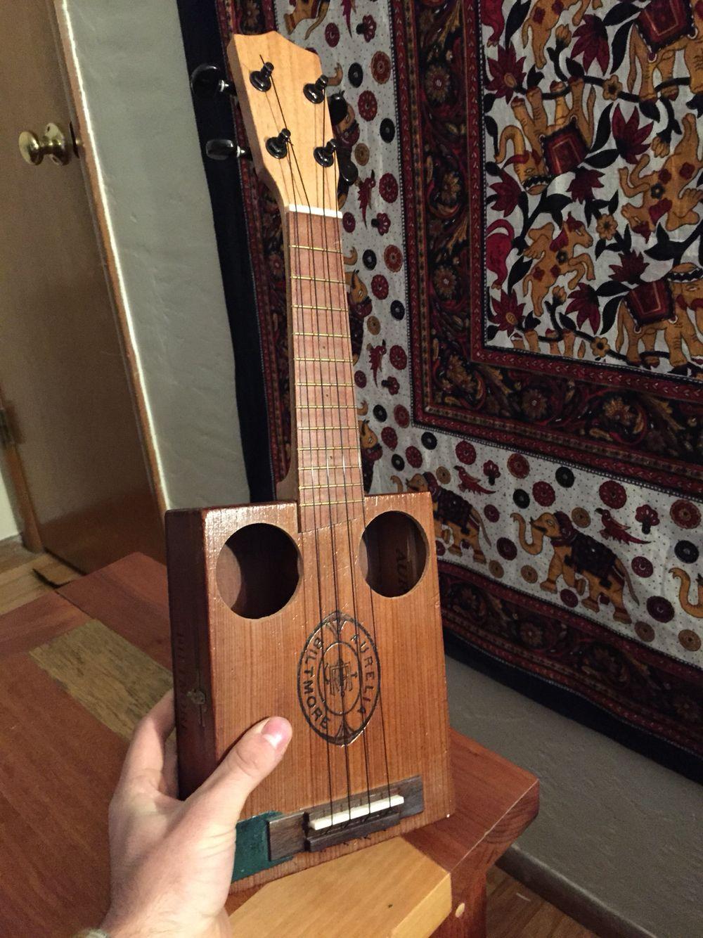 Cigar box ukulele woodworking cigar box ukulele