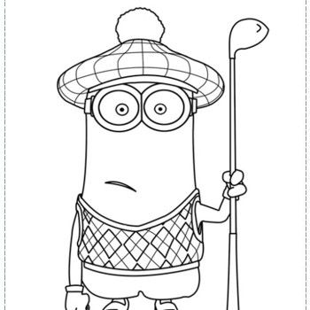 minion tim coloring pages - photo#20