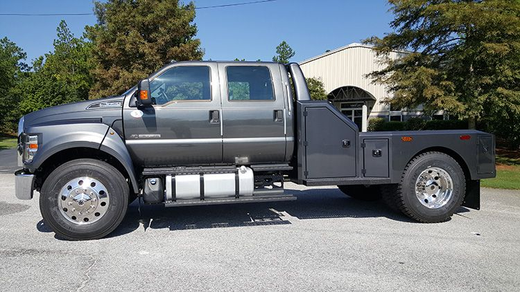 f650 hauler truck trucks custom beds xlt ford bed welding box 4x4 f650pickups work parts tool service diesel rigs discover