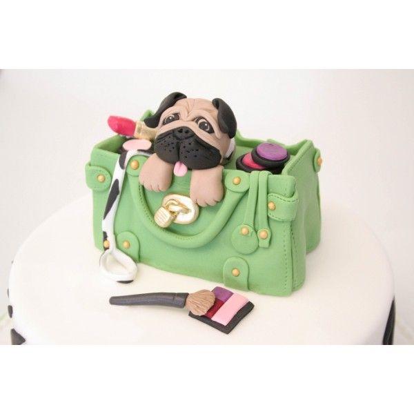 Pug Birthday Cake Pug Birthday Cake Puppy Birthday Cakes Pug Cake