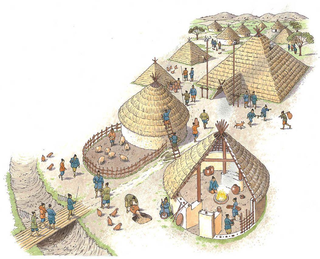 An Ancient Chinese Farming Village