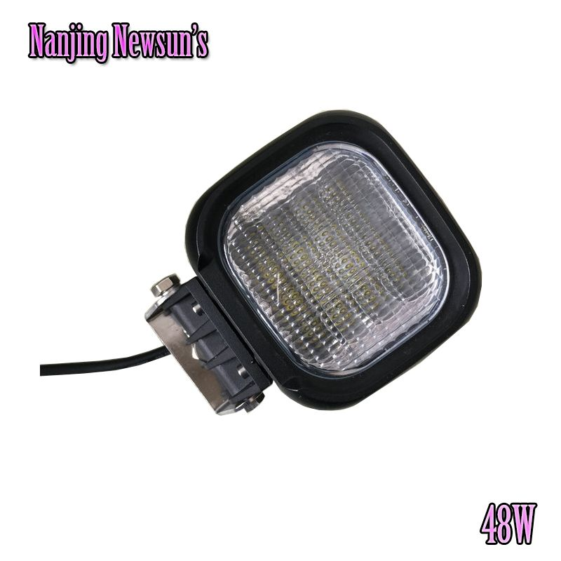 48w Cree Chip Led Working Light Flood Beam 12v Led Fog Light Offroad Camping Farming Motorcycle Auto Car Boat Led 48w Worklights Driving Work Boat Led Car Led
