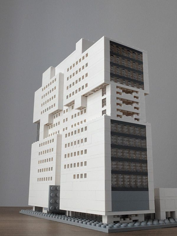 Lego Architektur | Godfrey Hotel Chicago Architektur Mit Lego Architecture With Lego
