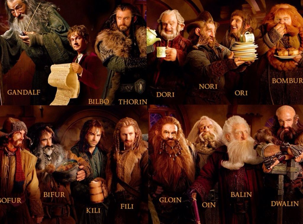 analysis of major characters in the hobbit It was the perfect playground for tolkien to develop his main character bilbo baggins bilbo baggins was a small hobbit, who unaware in the beginning would become a large role in the plot it is through this character that tolkien implemented the theme of heroism into the story.