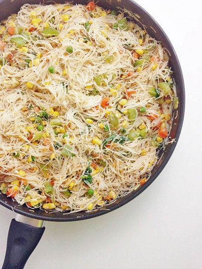 Vermicelli Stir Fry Recipe Vermicelli Recipes Rice Noodle Recipes Stir Fry