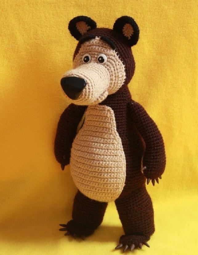 Кукляндия: Медведь | zabawki en 2018 | Pinterest | Oso de masha ...