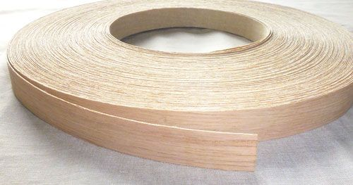 22mm Oak White Veneer Edging Home Wood Veneer Wood