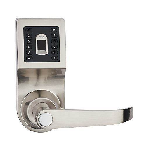 Haifuan Digital Door Lock Unlock Fingerprint Code And Ke Digital Door Lock Door Locks Unlock