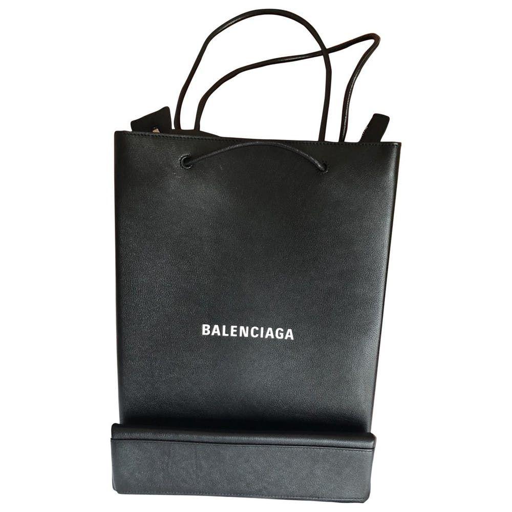 balenciaga bag plastic