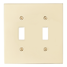 Fenton Double Toggle Coverplate Light Switch Plates Switch Plates Light Switch
