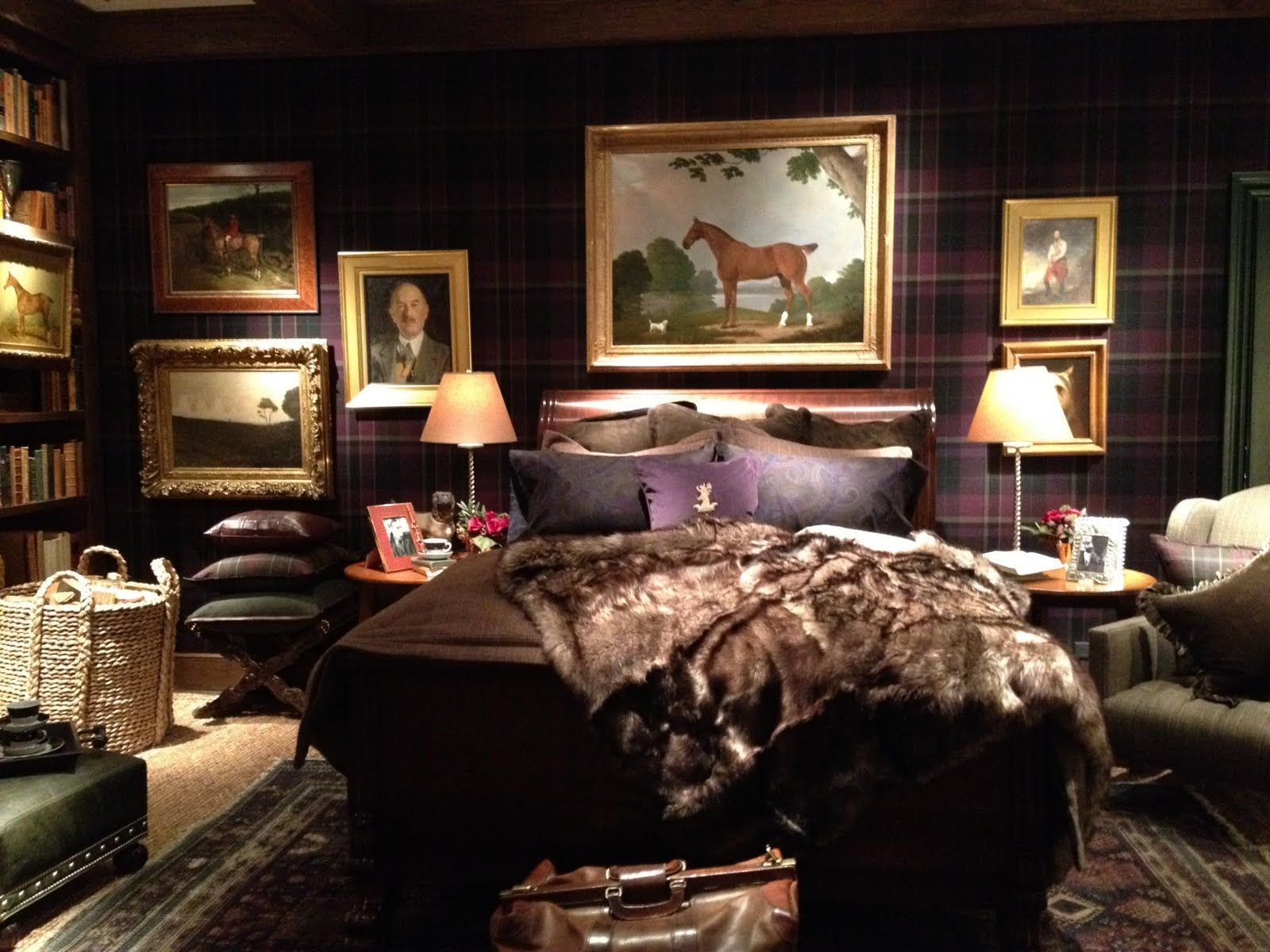 Ralph Lauren Home S Classic Duke Bedding Is Masculine In Plaid