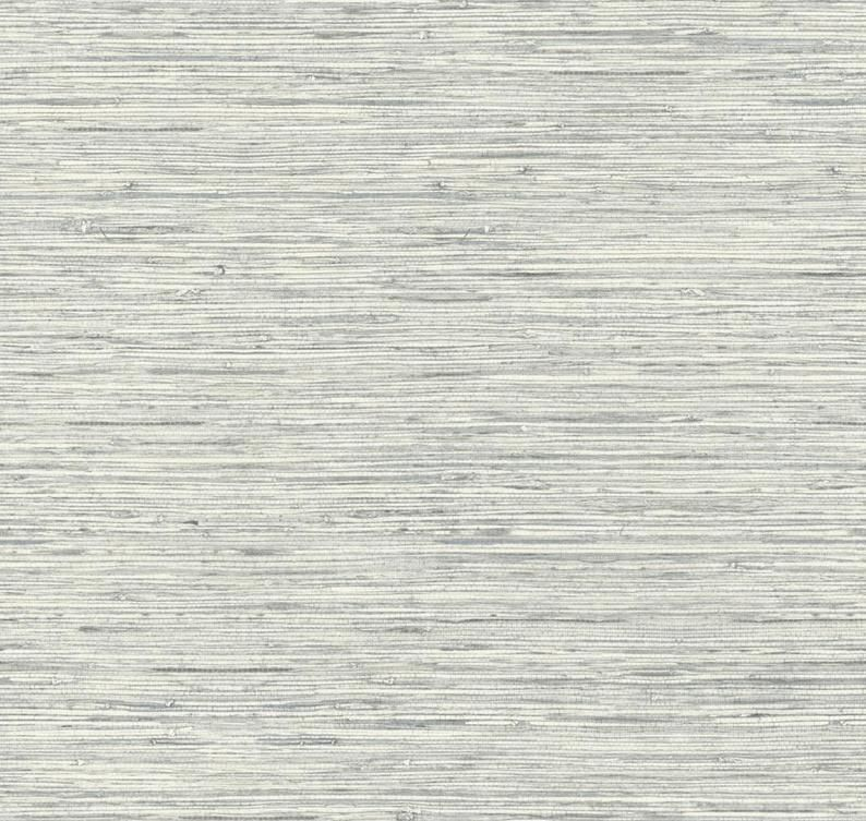 Trendy Blue Gray Grasscloth Wallpaper Faux Woven Texture Etsy Grasscloth Wallpaper Grasscloth Peel And Stick Wallpaper