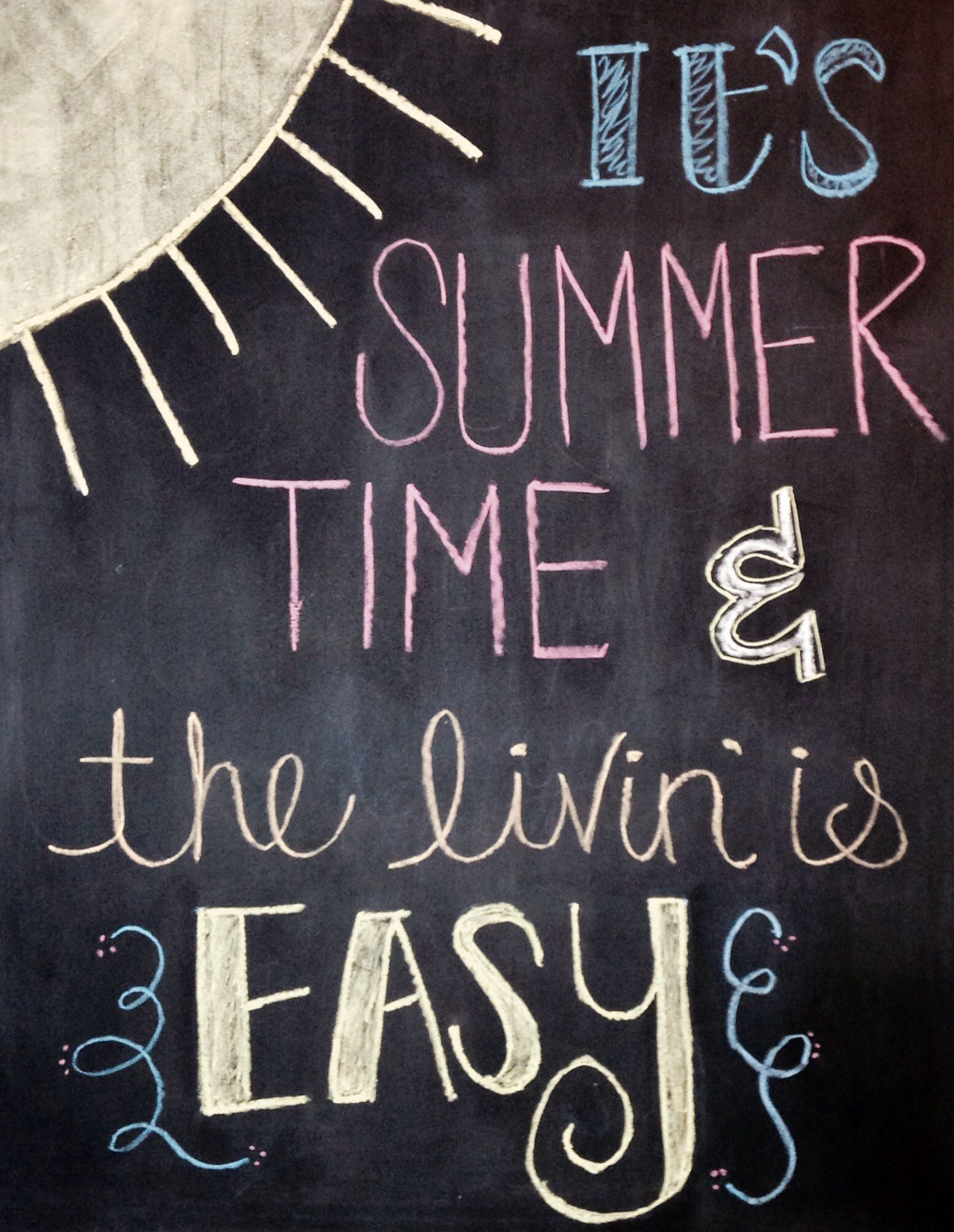 Chalkboard Designs Summertime Chalkboard Art Google Search Chalkboard Drawings