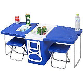 Giantex 6 Folding Table Portable Plastic Indoor Outdoor Https Www Amazon Com Dp B07bktvrsf Ref Cm Sw R Pi D Camping Table Folding Table Table And Chairs