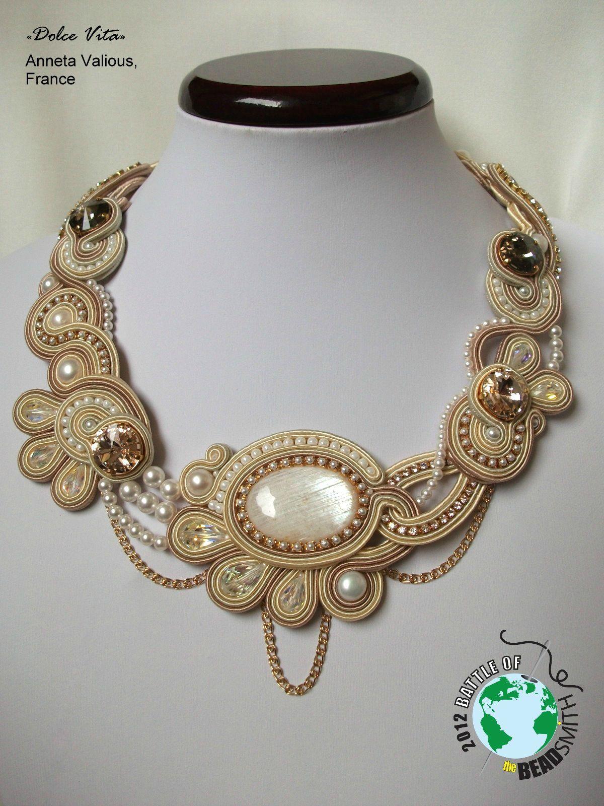 meilleur endroit nouveau style de vie promotion Dolce Vita - Mes bijoux en perles | Amazing Soutache ...
