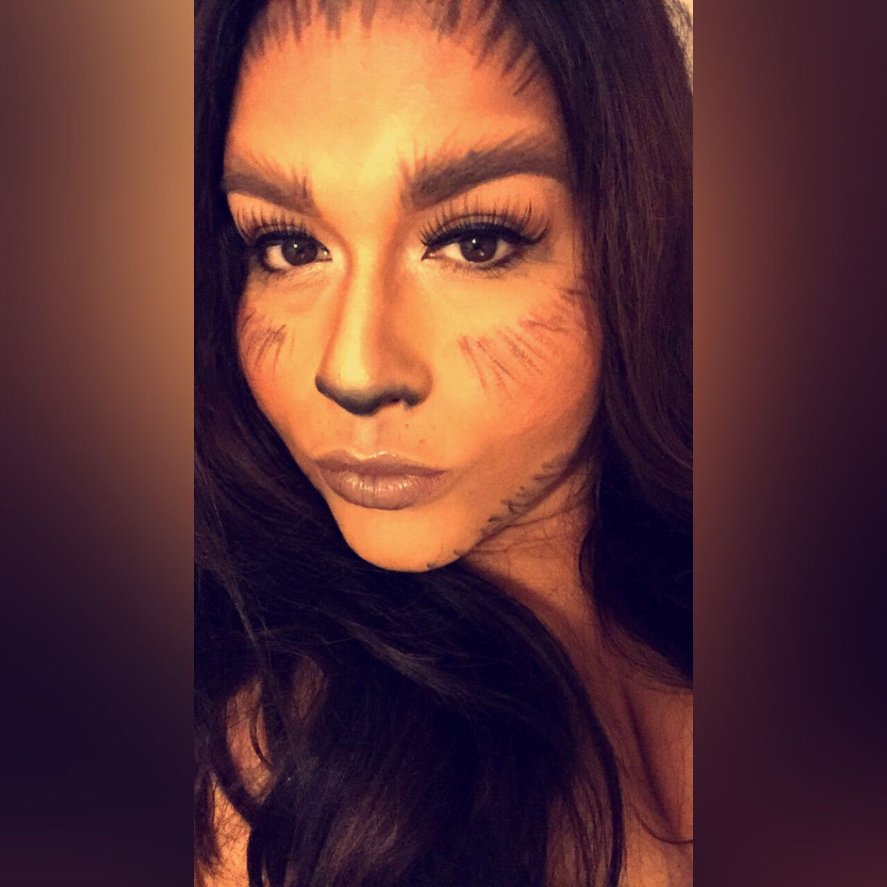 Big Bad Wolf makeup inspiration simple n I'm sure you have