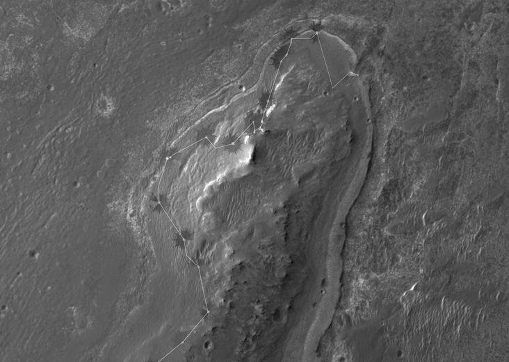 mars rover location - photo #40