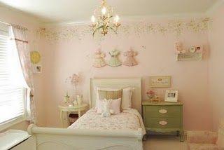 Meisjes kamer nieuwe huis pinterest kinderkamer meisjes en shabby
