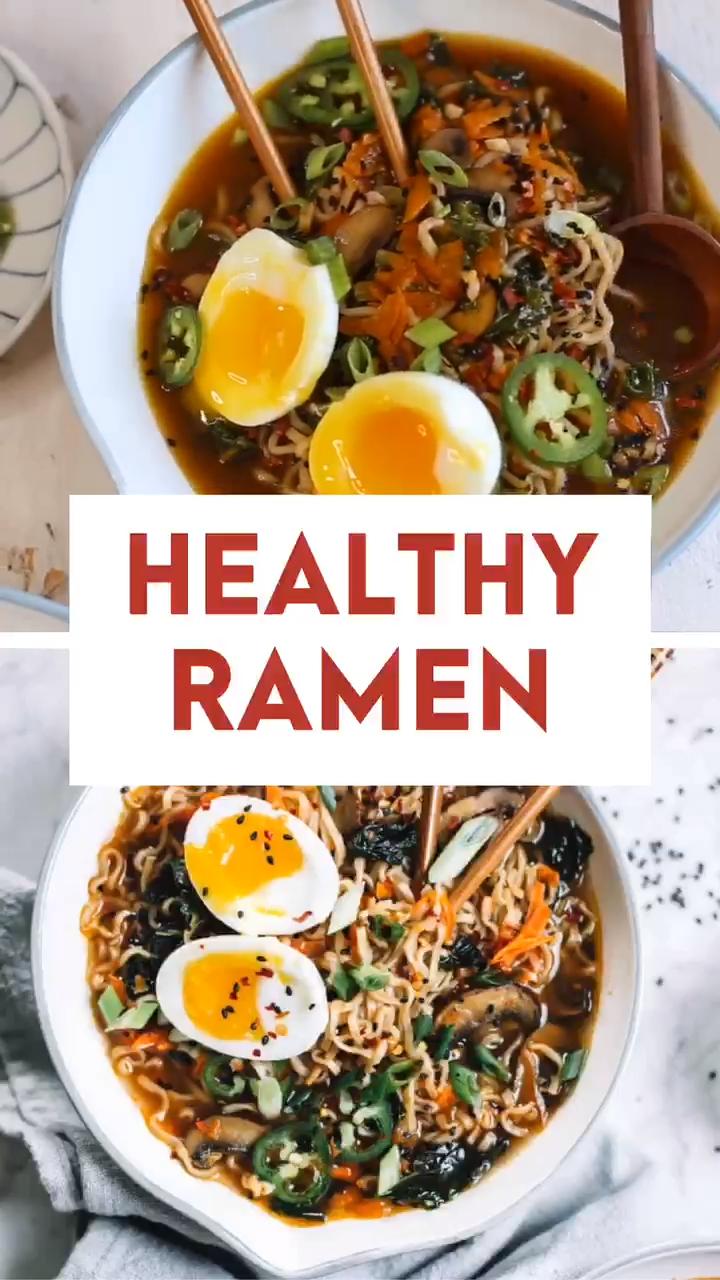 Easy Homemade Healthy Ramen Bowl