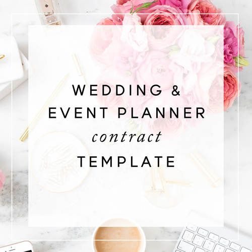Event Planner Contract Template Christina ScaleraJpg  Business