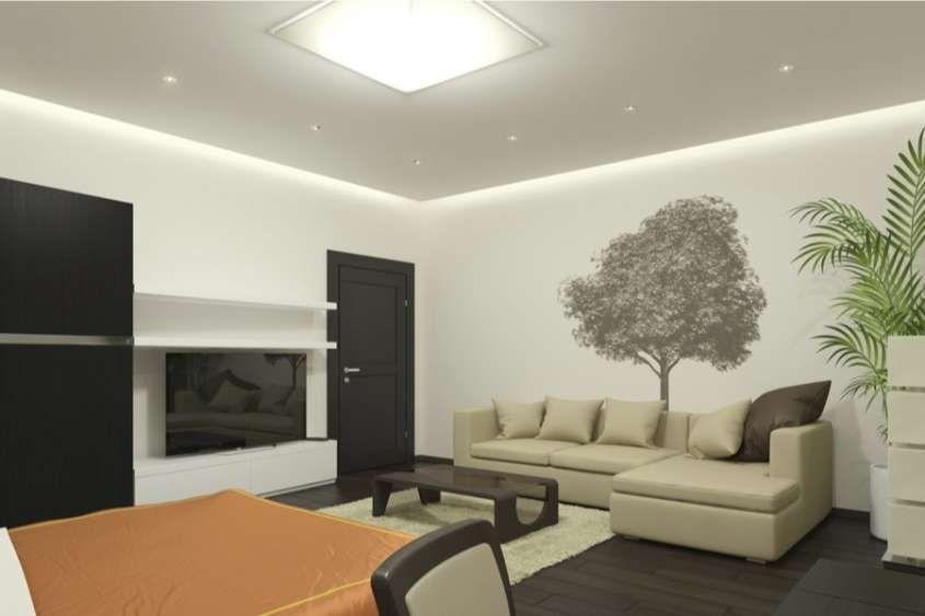 Illuminazione led per interni living con lampadario led
