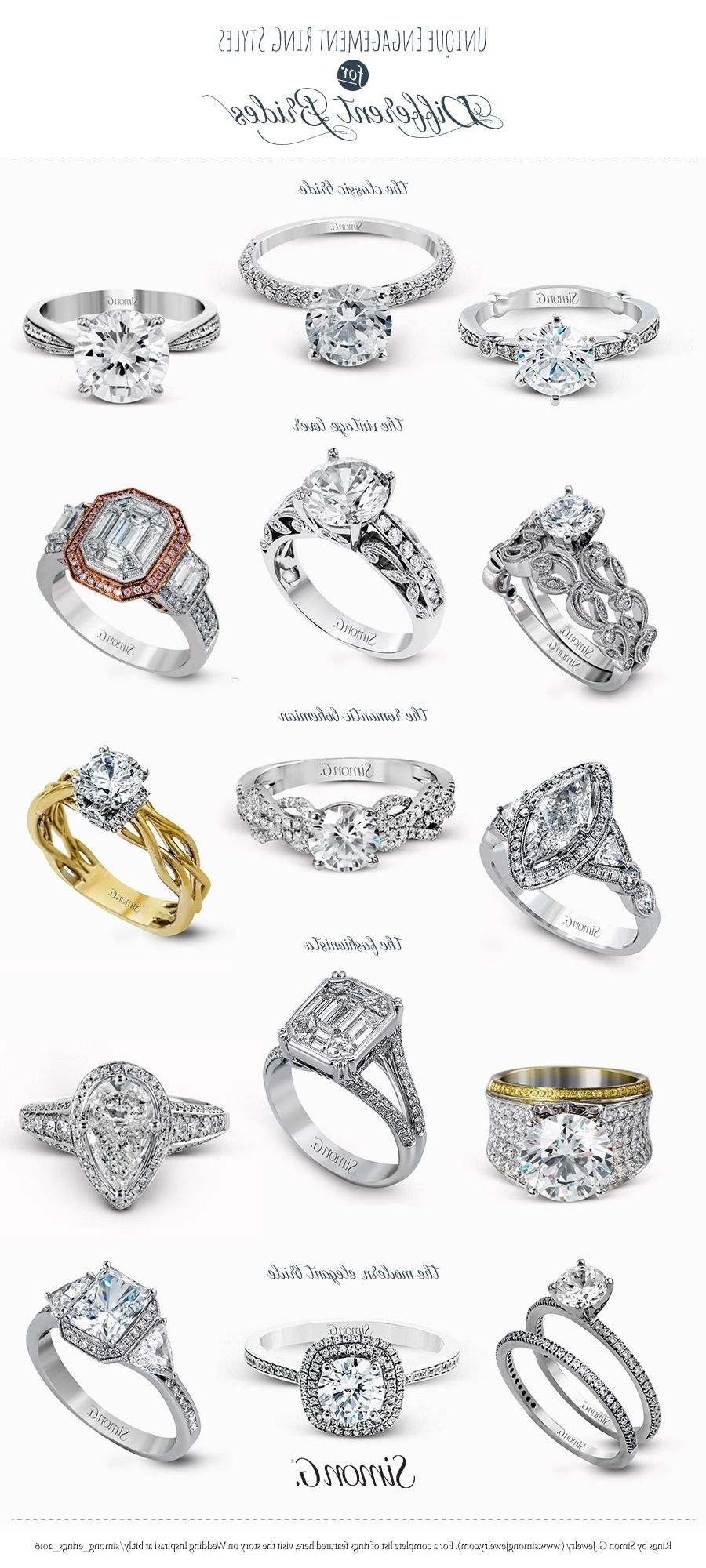 Other Types Of Engagement Rings   Ring   Pinterest   Engagement ...