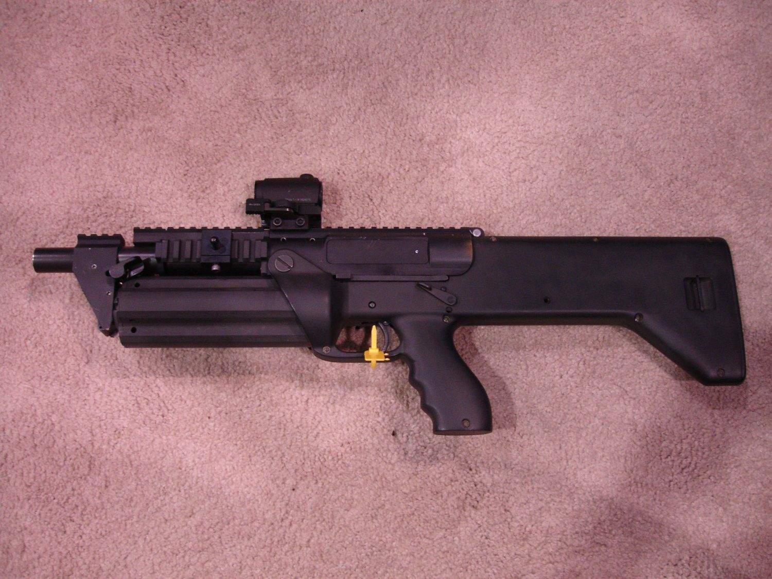Mossberg 500A Tactical Shotgun. 12 gauge, Pump. Quad-accesory rail ...