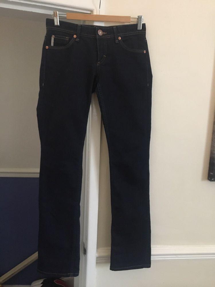 85ea8084 Ladies Armani Exchange Denim Jeans Size 4 UK 8 Excellent Condition ...