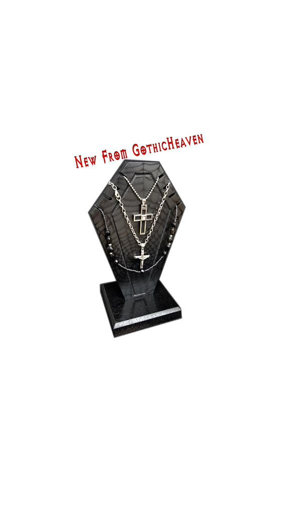 Necklace Holder Coffin Jewelry Holder Necklace Organizer