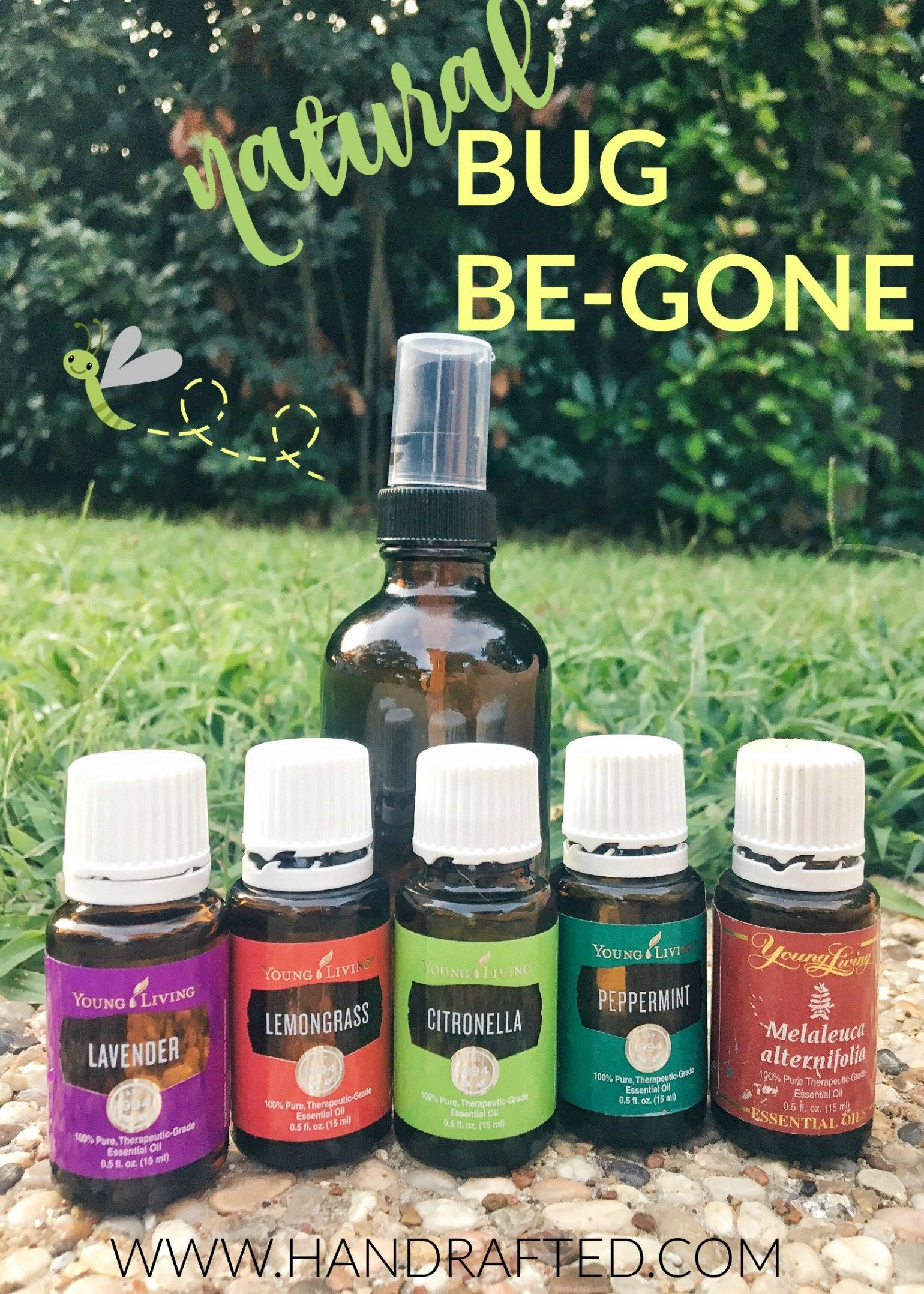 Bug Be Gone Essential Oil Repellent Spray Citronella Essential Oil Essential Oil Spray Essential Oils