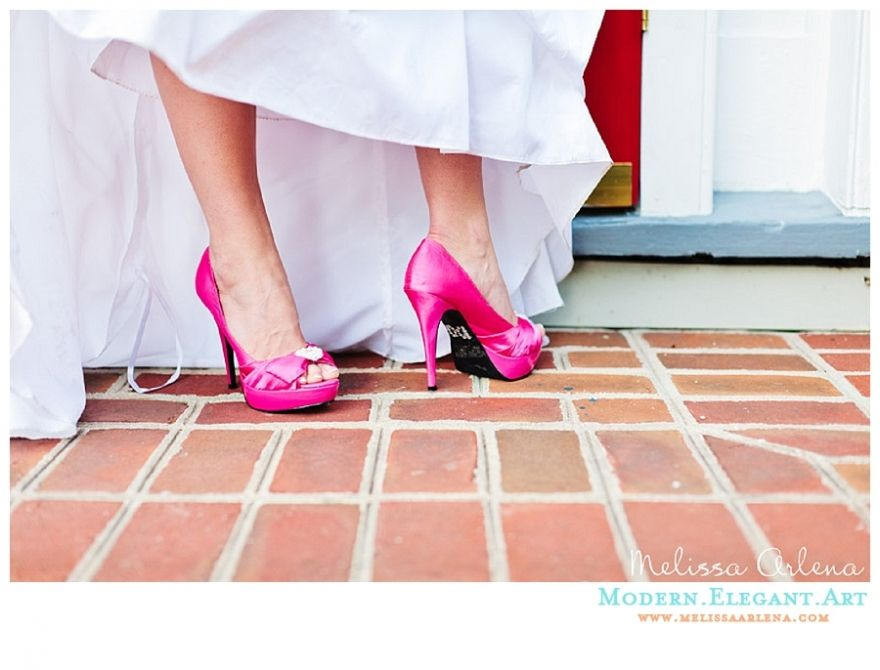wedding shoes, Pink bridal shoes